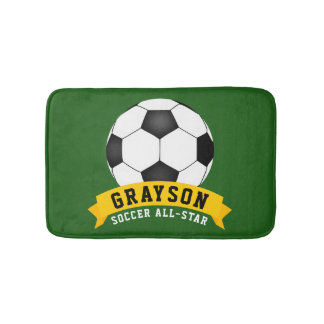 Soccer All-Star Bath Mat