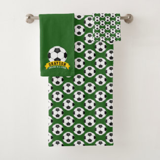 Soccer All-Star Bath Towel Set