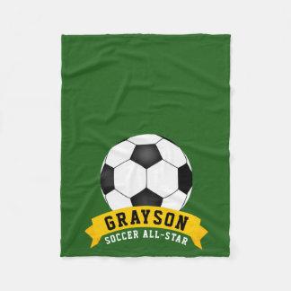 Soccer All-Star Fleece Blanket