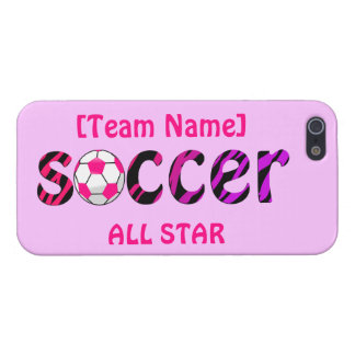 Soccer ~ ALL STAR Cover For iPhone 5