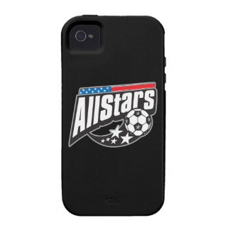 Soccer All Stars Vibe iPhone 4 Case