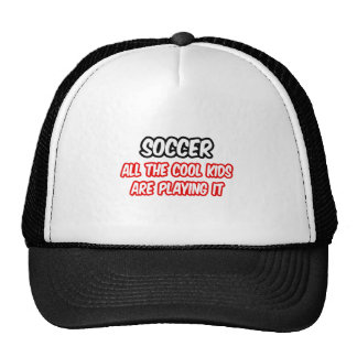 Soccer...All The Cool Kids Are Playing It Mesh Hat
