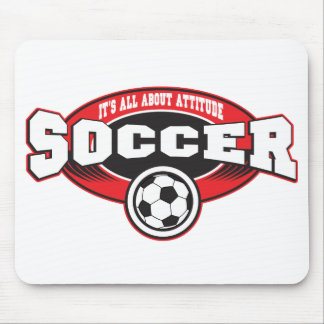 Soccer Attitude Mouse Pad