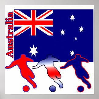 Soccer Australia Poster