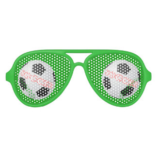 Soccer Aviator Sunglasses