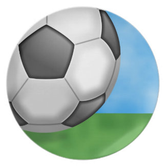 Soccer Background Plate