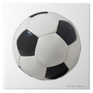 Soccer Ball 2 Large Square Tile