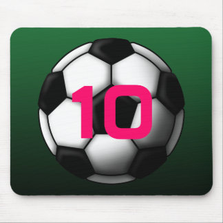 soccer ball 2 mouse pad