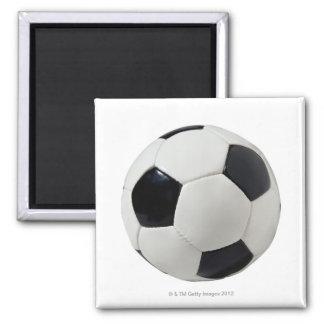 Soccer Ball 2 Square Magnet