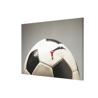 Soccer ball 3 gallery wrap canvas
