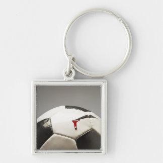 Soccer ball 3 key ring
