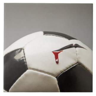 Soccer ball 3 large square tile