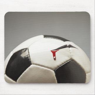 Soccer ball 3 mouse mat