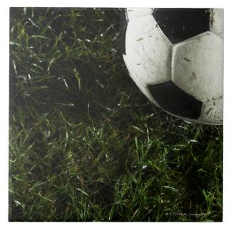 Soccer Ball 4 Large Square Tile