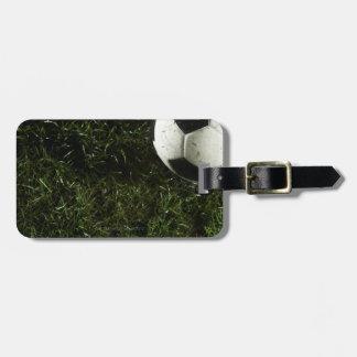 Soccer Ball 4 Luggage Tag