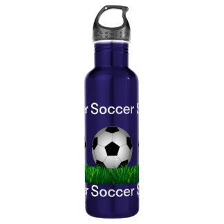 Soccer ball 710 ml water bottle