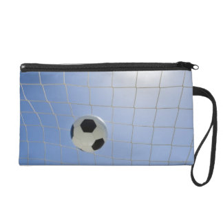Soccer Ball and Goal 2 Wristlet Purses