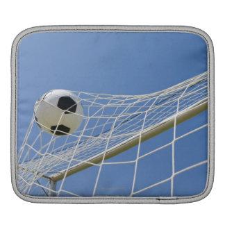 Soccer Ball and Goal 3 iPad Sleeve