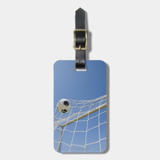 Soccer Ball and Goal 3 Luggage Tag