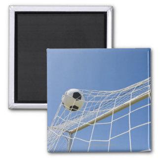 Soccer Ball and Goal 3 Fridge Magnets
