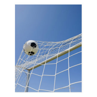 Soccer Ball and Goal 3 Postcard