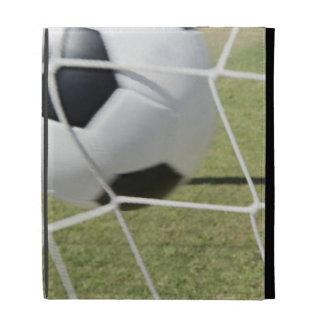 Soccer Ball and Goal iPad Folio Cases