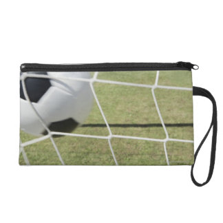 Soccer Ball and Goal Wristlet