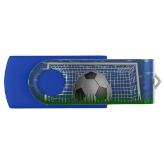 Soccer Ball and Net USB Flash Drive
