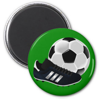 Soccer Ball and Shoe Magnets