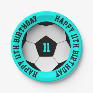 Soccer Ball Birthday Paper Plate