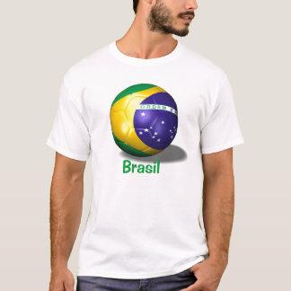 soccer ball brazil, Brasil T-Shirt