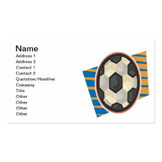 Soccer Ball Business Card Templates