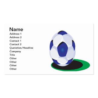 Soccer Ball Business Card Template