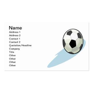 Soccer Ball Business Cards