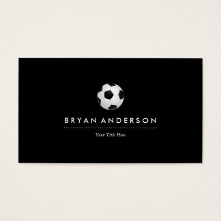 Soccer Ball Business Card