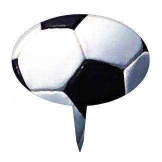 Soccer Ball Cake Toppers