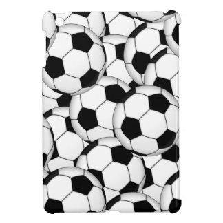 Soccer Ball Callage Cover For The iPad Mini