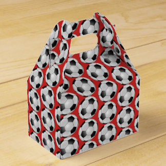 Soccer Ball Child's Birthday Favor Boxes