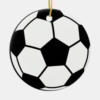 Soccer Ball Christmas Ornament