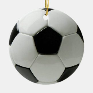 Soccer ball  Circle Ornament