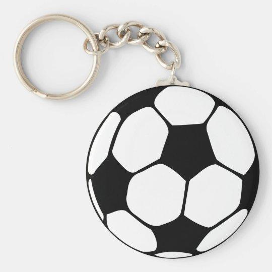 Soccer Ball  Close-up Key Ring