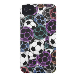 Soccer Ball Collage Case-Mate iPhone 4 Case