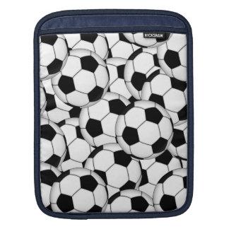 Soccer Ball Collage iPad Sleeve