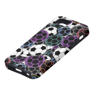 Soccer Ball Collage iPhone 5 Case