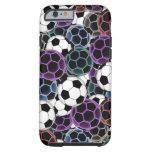 Soccer Ball Collage Tough iPhone 6 Case