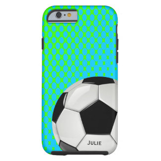 Soccer Ball Custom iPhone 6 case Tough iPhone 6 Case