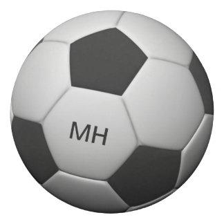 Soccer Ball custom monogram eraser