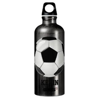 Soccer Ball Custom Water Bottle