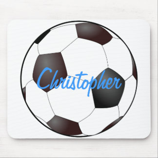 Soccer Ball - Customizable Mouse Pad