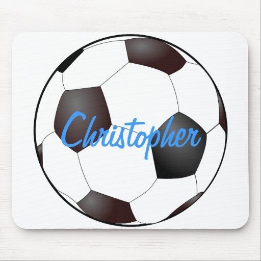 Soccer Ball - Customizable Mousepad